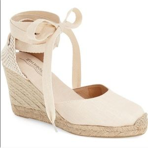 Soludos Wedge Lace Up Espadrilles